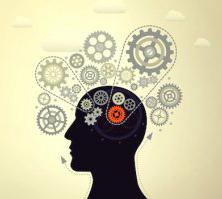 cervello con ingranaggi